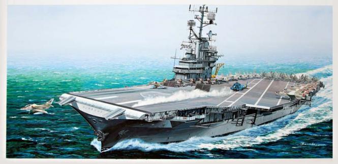 USS Intrepid CV-11 (Angled Deck)