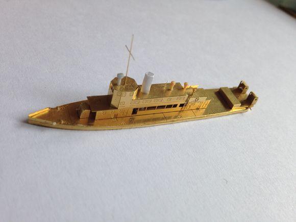 Kiang Hsi Gunboat Republic Of Chinese Navy