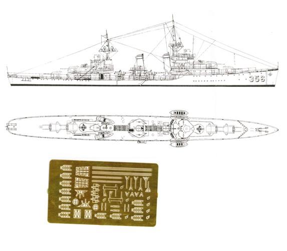 Porter USS Ätzteil 70282