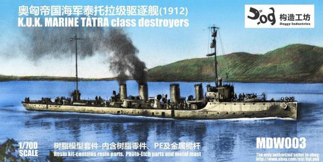 K.u.K. Marine Tatra class Destroyer 1912