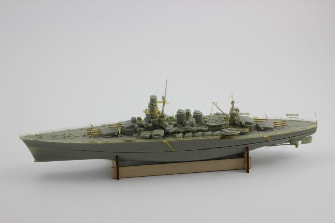 Italian Battleship Caio Duilio 1941