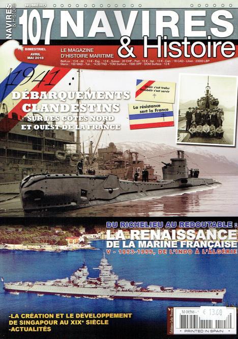 Du Richelieu au Redoutable: La renaissance de la Marine Francaise - part V - 1953-1955
