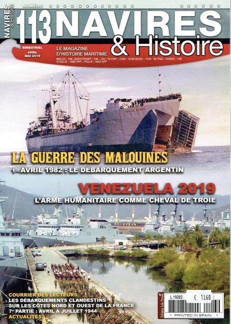 La Guerre des Malouines - 1. Avril 1982: Le débarquement Argentin