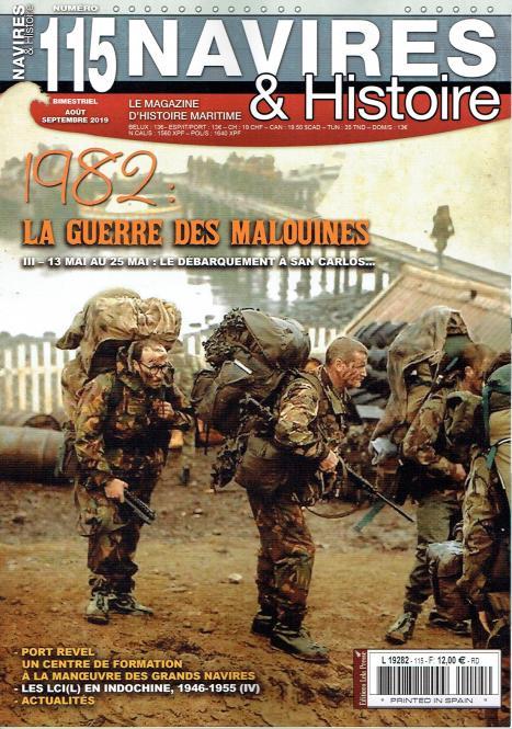 1982: La Guerre des Malouines III - 13 Mai au 25 Mai: Le débarquement à San Carlos...