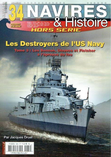 Les Destroyers de l'US Navy Tome 3