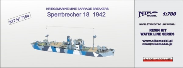Sperrbrecher 18 -1942- Kriegsmarine Mine Barrage Breaker