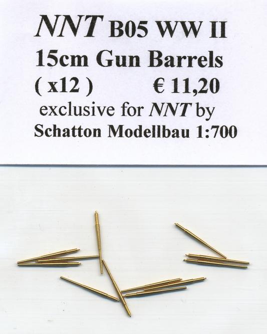 15cm Gun Barrels(x12)WWII