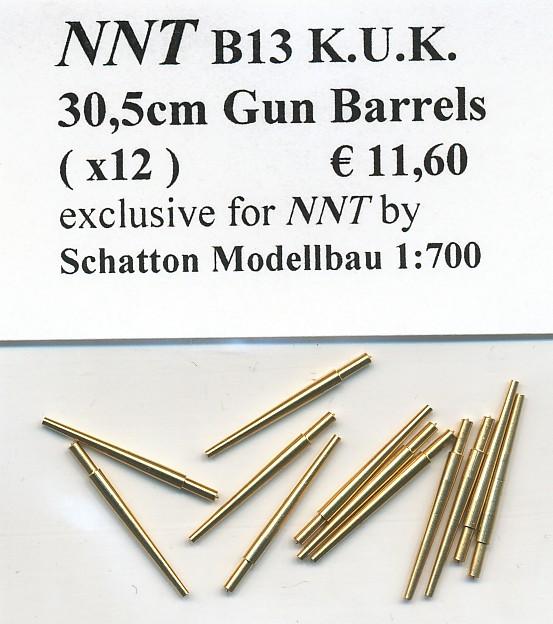 30,5cm Gun Barrels (x12)