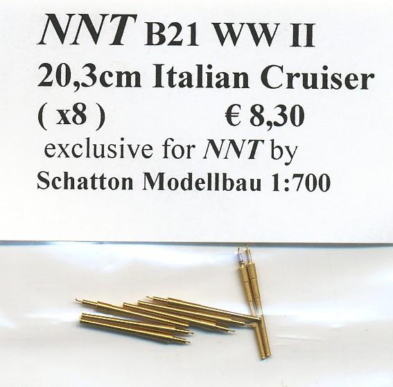 20,3cm Italian Cruiser (x8)