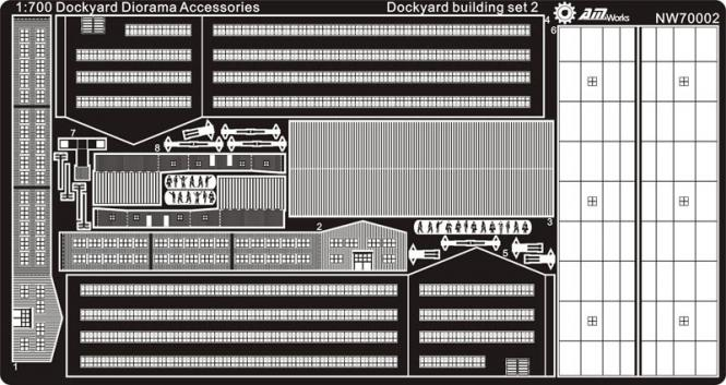 Dockyard building set 2