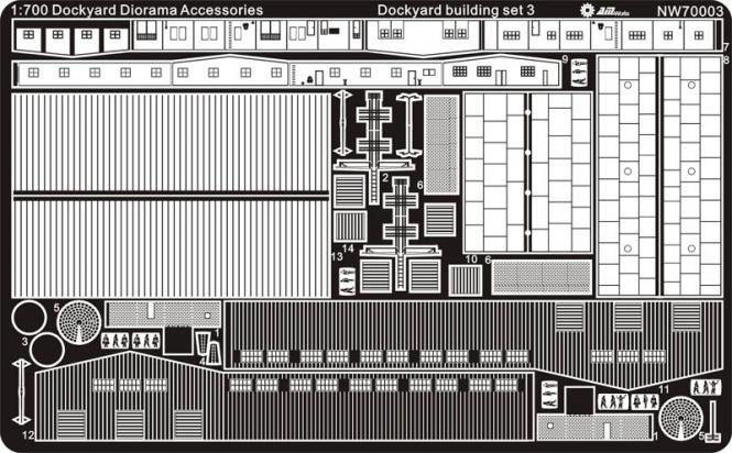 Dockyard building set 3