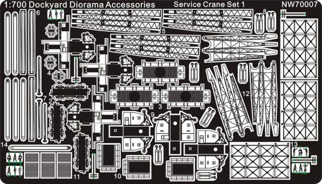 Service Crane Set 1
