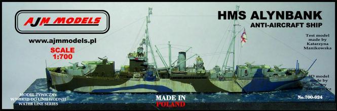 HMS Alynbank Anti-Aircraft Ship