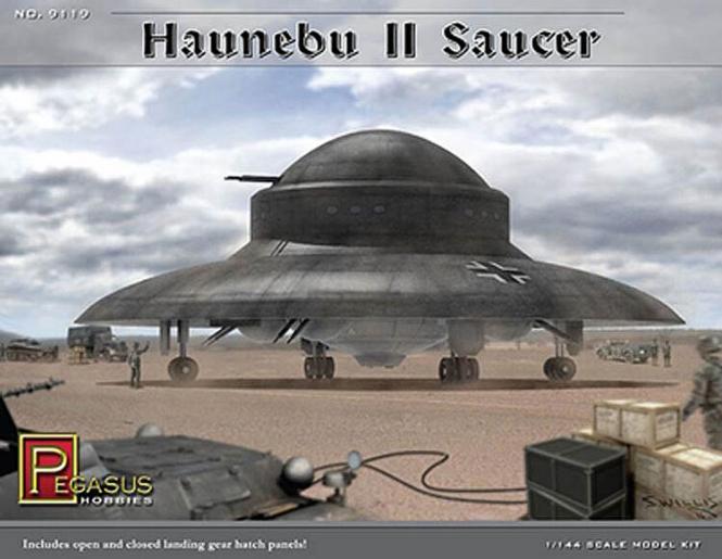 Haunebu II Saucer