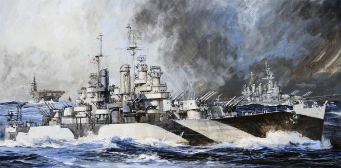 USS Miami CL-89 Light Cruiser