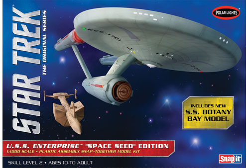 """USS Enterprise """"Space Seed"""" Edition"""