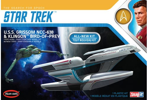 USS Grissom NCC-638 & Klingon Bird of Prey (Star Trek The search for Spock)