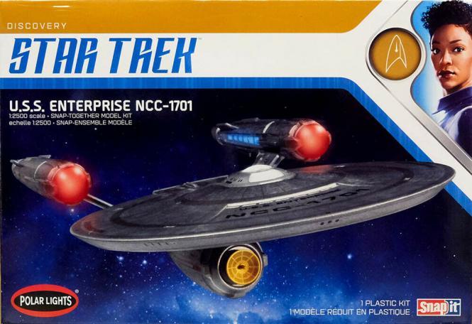 USS Enterprise NCC-1701 1/2500 aus der Serie Discovery