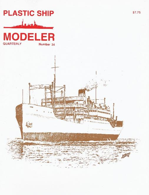 Plastic Ship Modeller No.24