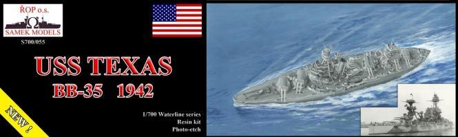 Texas USS 1942