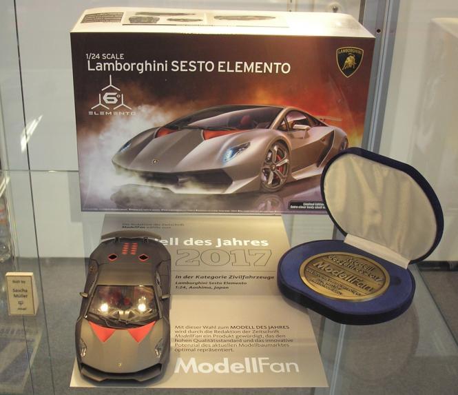 Lamborghini Sesto Elemento (Overseas Edition)