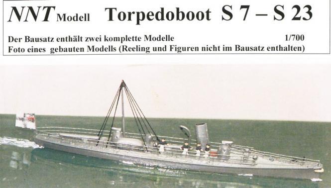 S 7 - S 23 SMS Torpedoboot (x2) 1885