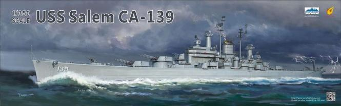 USS Salem CA-139 US Navy Heavy Cruiser