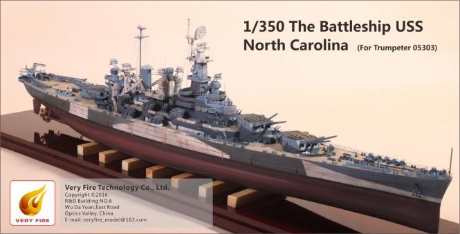 Battleship USS North Carolina Detail Set (for Trumpeter 05303)