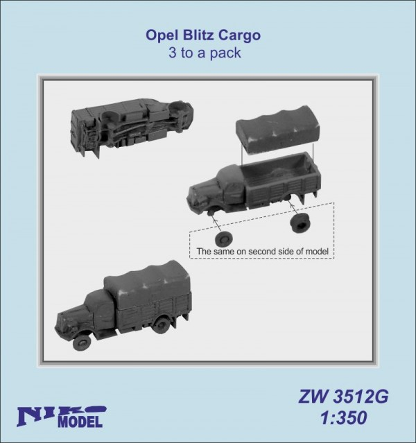 Opel Blitz 3.6-6700A 4x4 Germ. Cargo Tr.