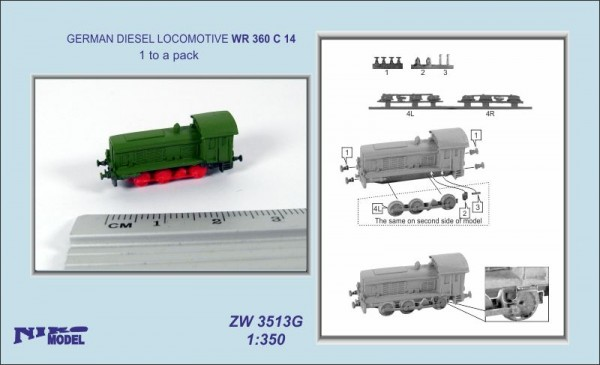 Lokomotive Germ. Diesel WR 360 C 14